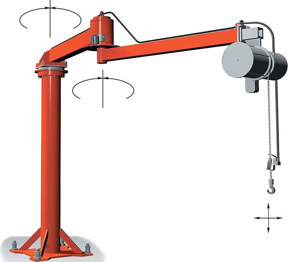 Used Jib Crane Hoist : Tractel india
